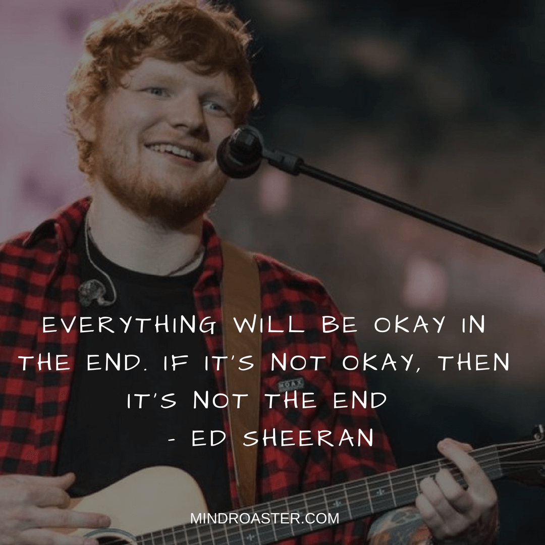 ed sheeran lyric quotes