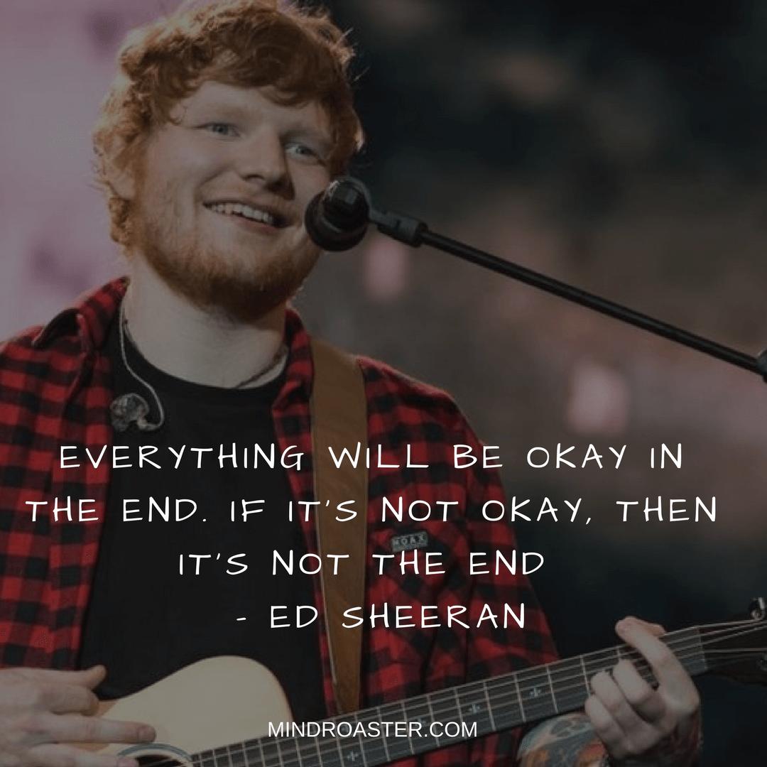 ed sheeran lyric quotes