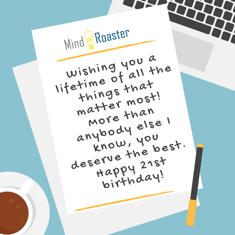 21st Birthday Wishes And Quotes
