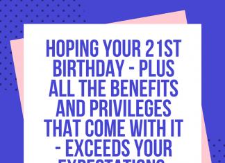 happy 21st birthday son