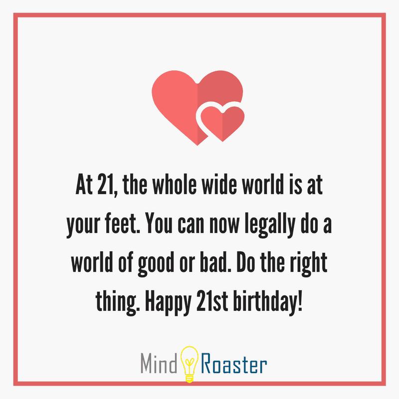 happy birthday 21