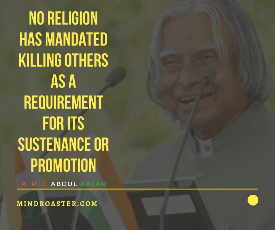apj abdul kalam quotes on youth