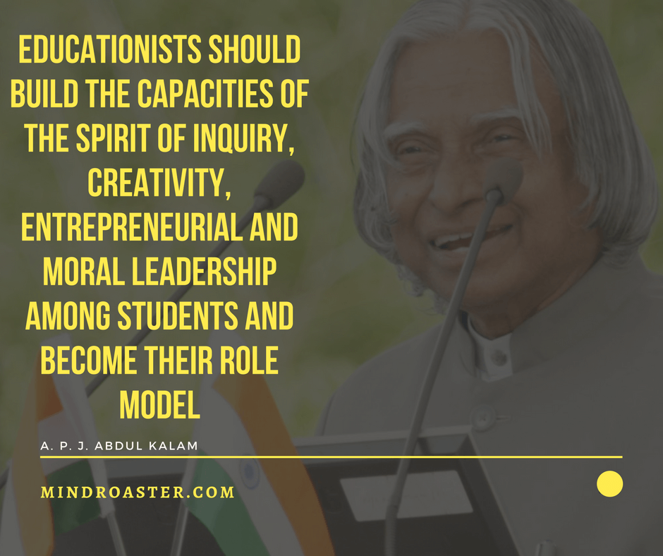 26 Most Popular Inspirational Quotes From Dr Apj Abdul Kalam